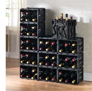 wine racks homemade easy