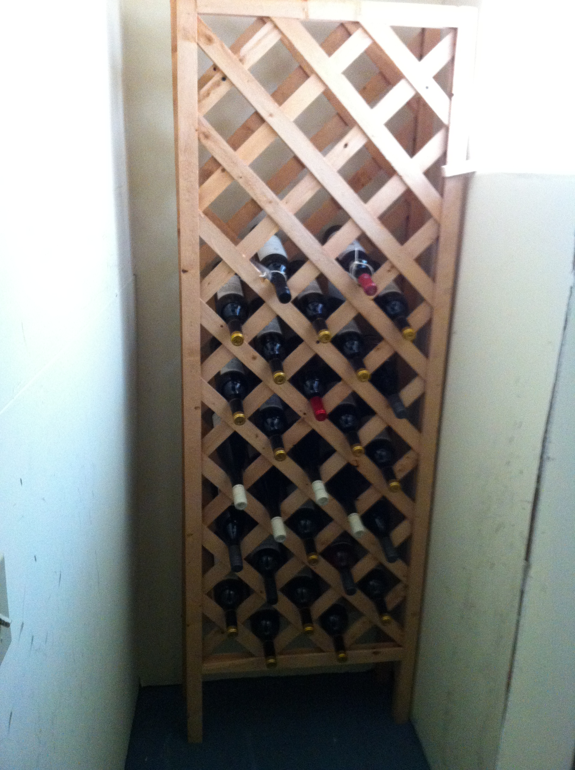 The diy wine cellar aaron berdofe 39 s wine and food experience for Building a wine cellar at home