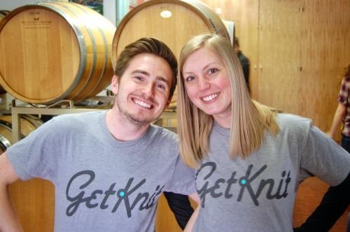 GetKnit Gurus Justin and Sarah